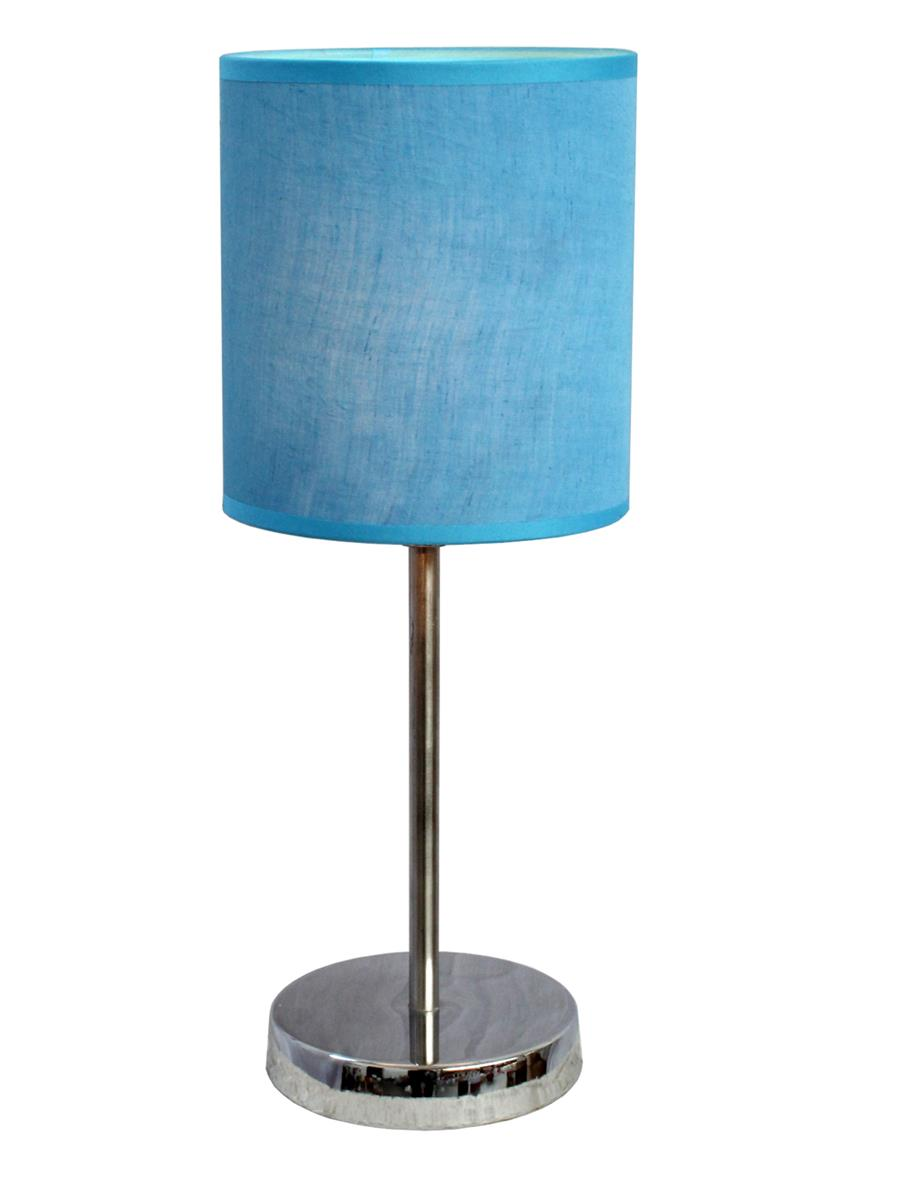 Chrome Basic Table Lamp with Shade