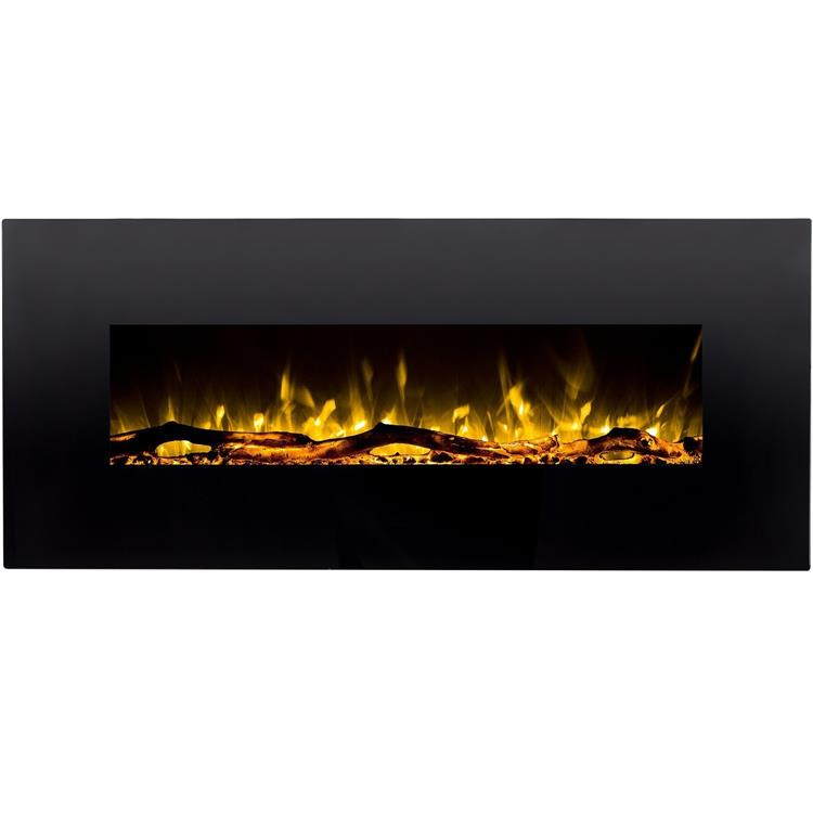 Regal Flame Denali Black 60 Log Pebble Crystal 3 Color Heater