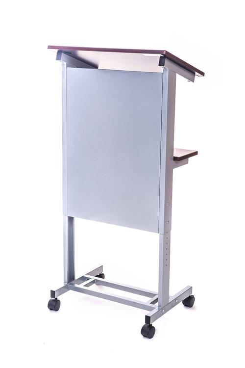 Rolling Adjustable Height Podium