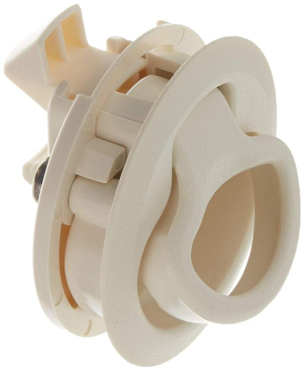 Southco Concealed Soft Draw Latch w//Keeper White Rubber
