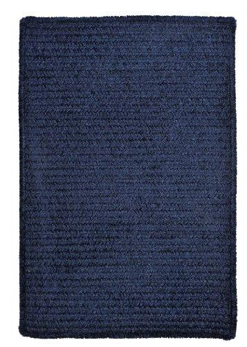 Simple Chenille - Navy 6' square