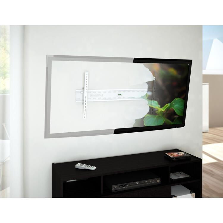 Sonax Tilting Flat Panel White Wall Mount for