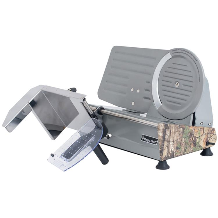 Magic Chef 8.6-In. Meat Slicer with Authentic Realtree Xtra Camouflage Pattern