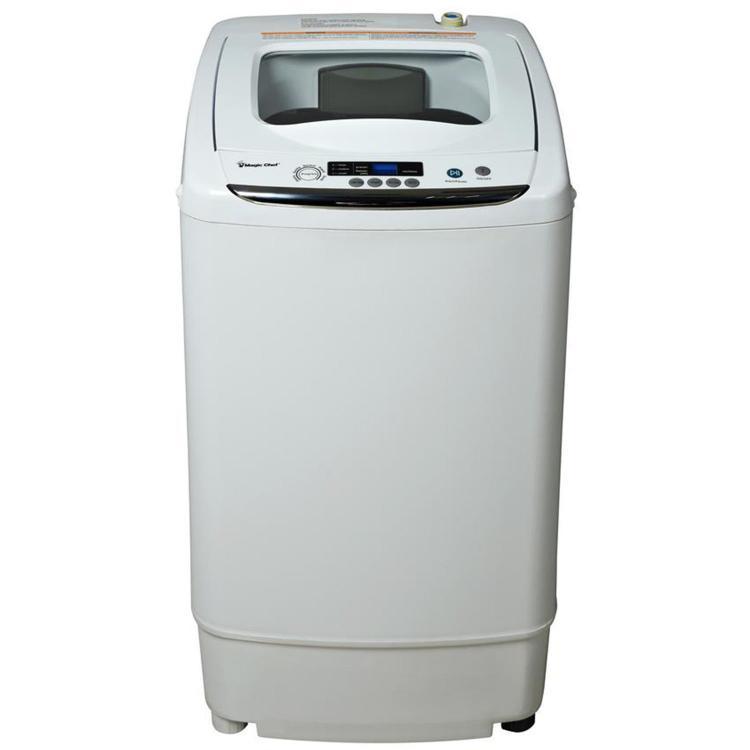 Magic Chef 0.9-Cu. Ft. Compact Washer in White [Item # MAGICMCSTCW09W1]