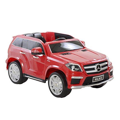GL63 AMG 12 Volt Powered Ride On, Red