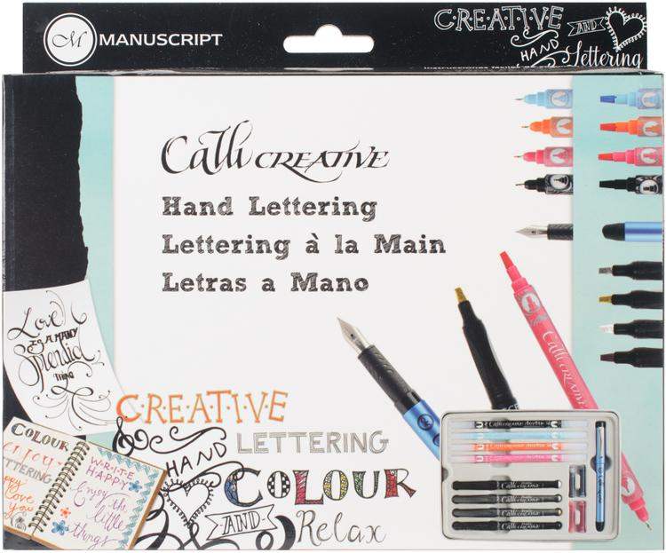 Manuscript Callicreative Hand Lettering Set-