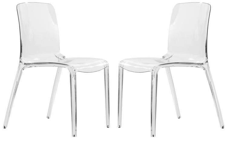 LeisureMod Murray Modern Dining Chair - Set of 2