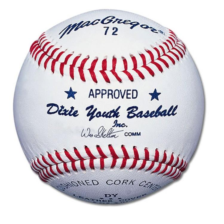 MacGregor #72 Official Dixie® Youth Baseball