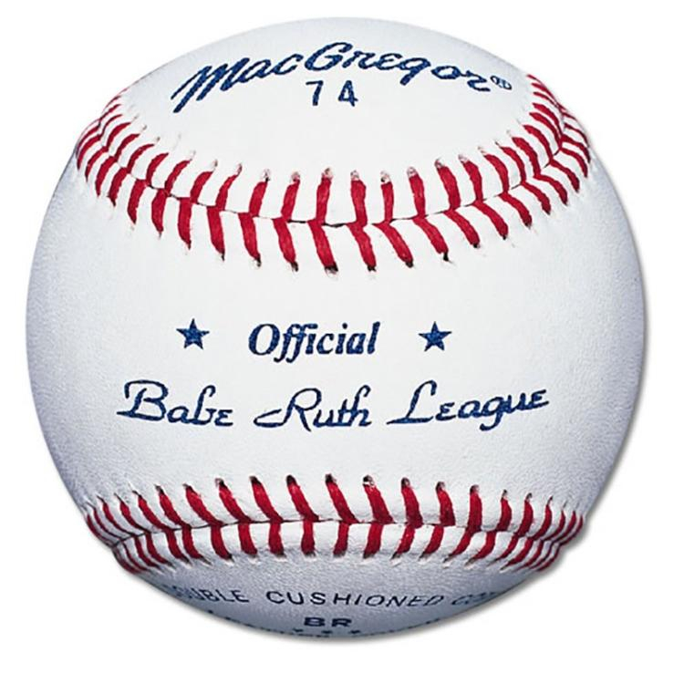 MacGregor #74 Official Babe Ruth® Baseball