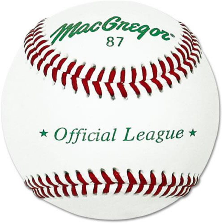 Mac #87 Official Split Leather Baseball