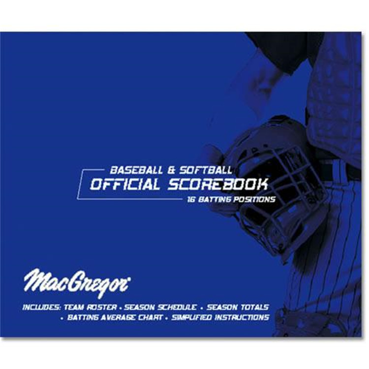Score-Right Baseball/softball Scorebook Oversized [Item # MCBIGBOK]