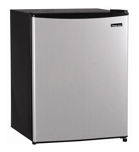 2.4 Cu.Ft. Refrigerator Stainless Look