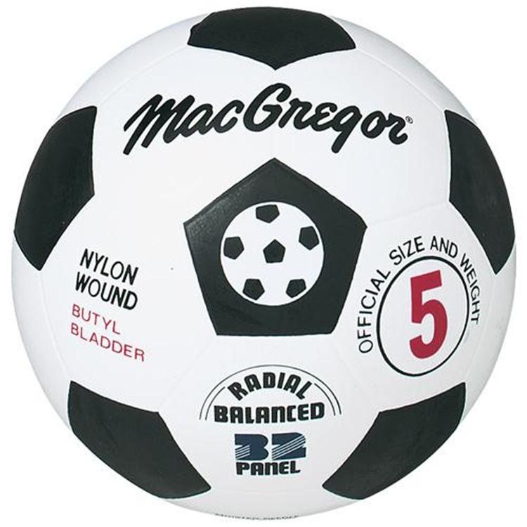 MacGregor Rubber Soccer Ball