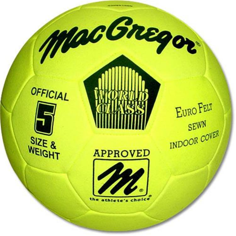 MacGregor Eurofelt Indoor Soccer Ball Size 5