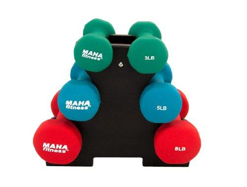 Dumbell Set With Stand