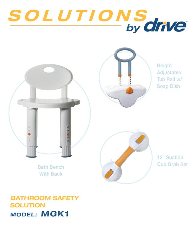 Bathroom Safety Solution Shower Seat - [MGK1]