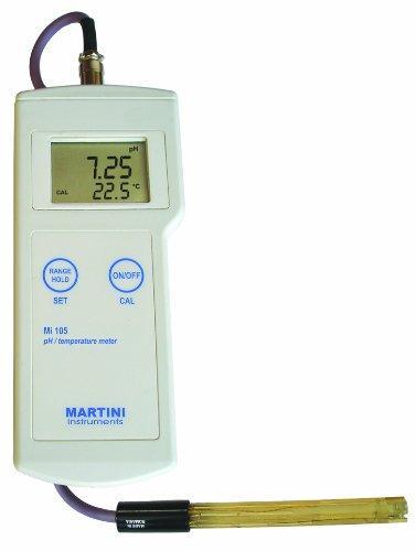 pH / Temp Portable Meter W/ Amplified electorde