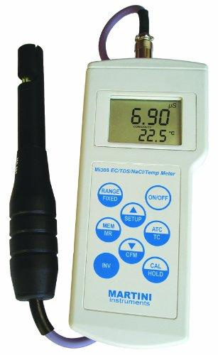 EC/TDS/Temp Portable Meter with extended range
