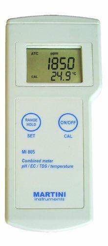 pH/EC/TDS/Temp Portable 4 in 1 Meter
