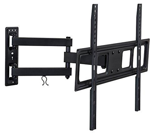 Mount-It! Wall Mount Bracket with Full Motion Articulating Arm 17-Inch Extension for 37-70 Inches LED, LCD OLED TVs, VESA 600x400 (MI-3991L)