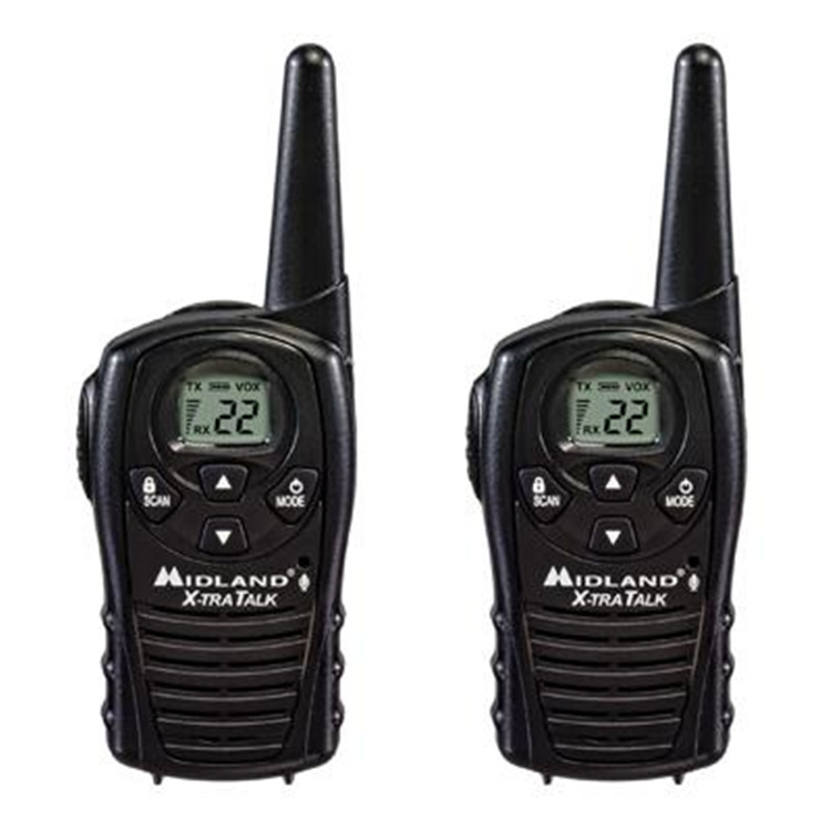 GMRS 2-Way Radio (Up to 18 miles)