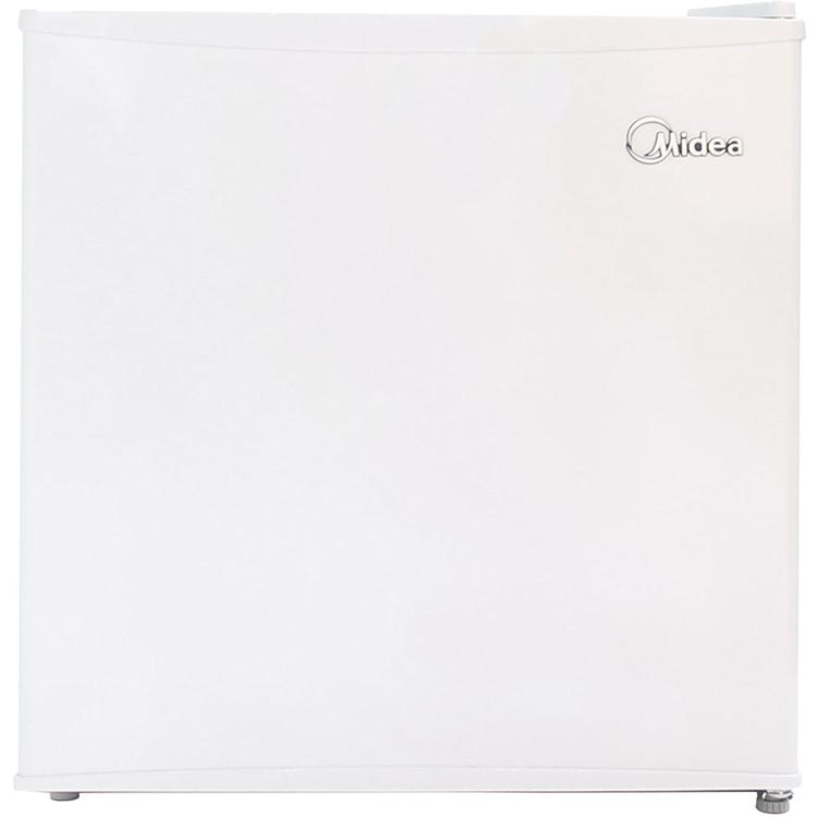 1.1 Compact Upright Freezer in White