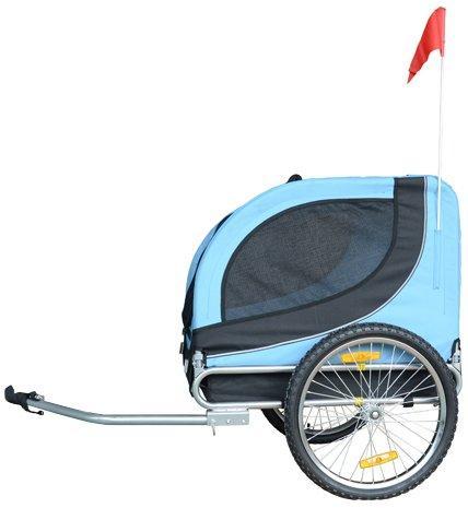 Comfy MK0001 Pet Bike Trailer - Blue/Black
