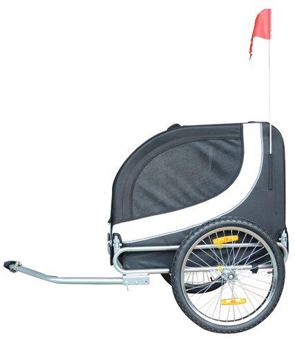Comfy MK0001 Pet Bike Trailer - White/Black