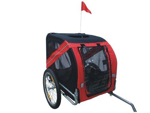 Comfy MK0062A Pet Bike Trailer - Red/Black