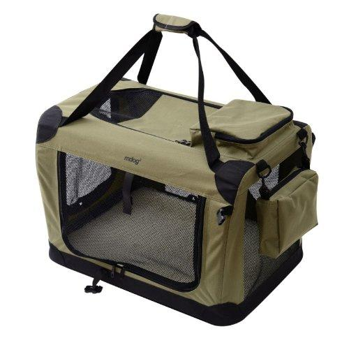 Portable Soft Crate 40 x 27 x 27 - Sage Green (XXL)