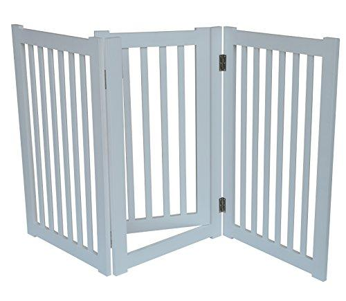 3-Panel Free Standing Pet Gate 60