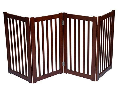 4-Panel Free Standing Pet Gate 72