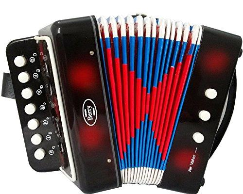 Kids Junior Accordion - Black
