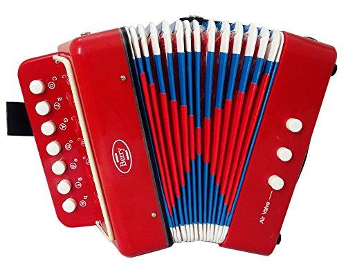 Kids Junior Accordion - Red