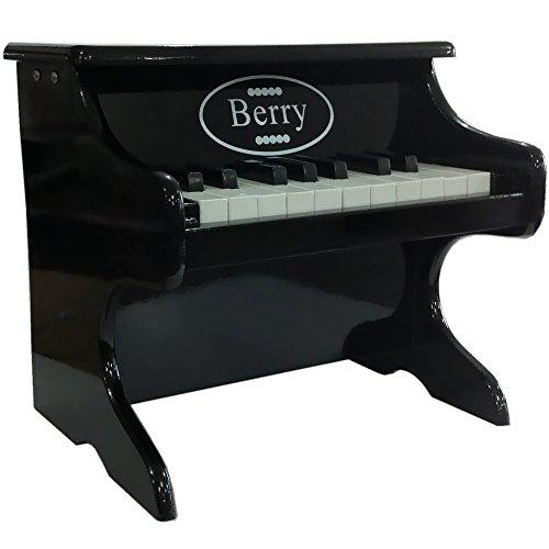 18-Key Baby/Toddler Toy Piano - Black