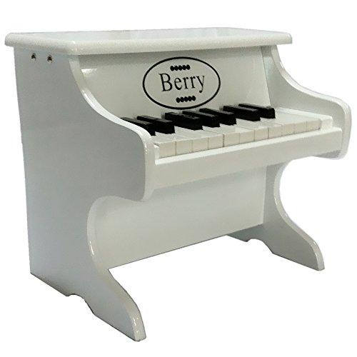 18-Key Baby/Toddler Toy Piano - White