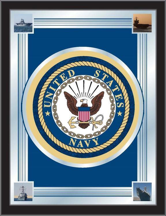 U.S. Navy Logo Mirror