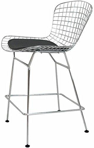 Chrome Wire Counter Stool