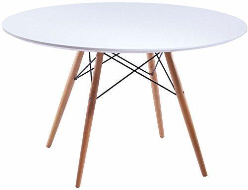 Paris Tower Round Table Wood Leg
