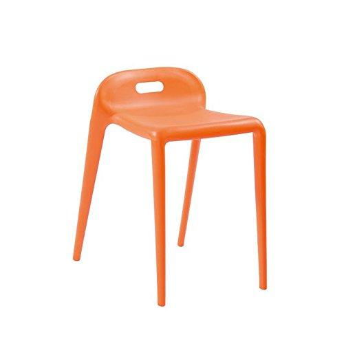 E-Z Modern Stacking Stool Chair 2-Pack
