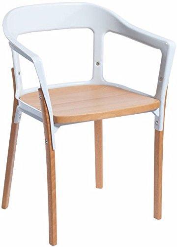 Jasper Steel Wood Chair