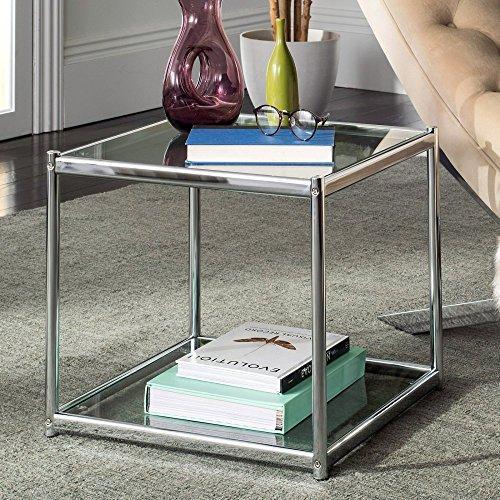 Safavieh Lilias Glass End Table