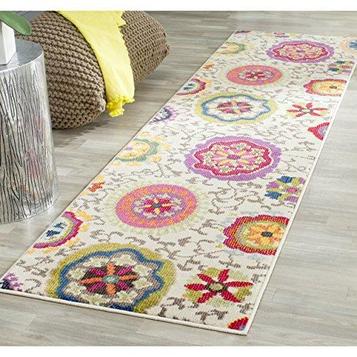 Contemporary Rug - Monaco Polypropylene -Ivory/Multi