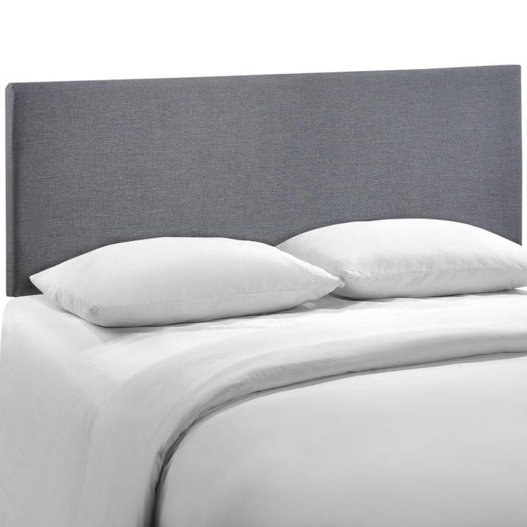 Region Queen Upholstered Fabric Headboard