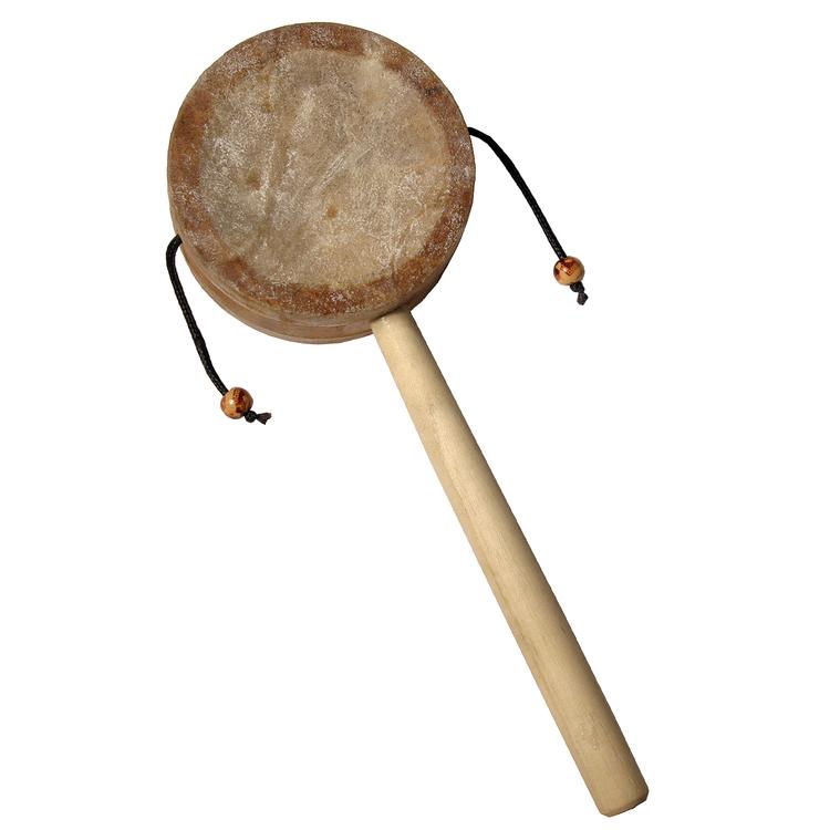 DOBANI Monkey Drum w/ Handle 3.25