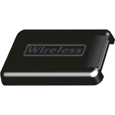 Wireless Mounting Plate Cover, Black
