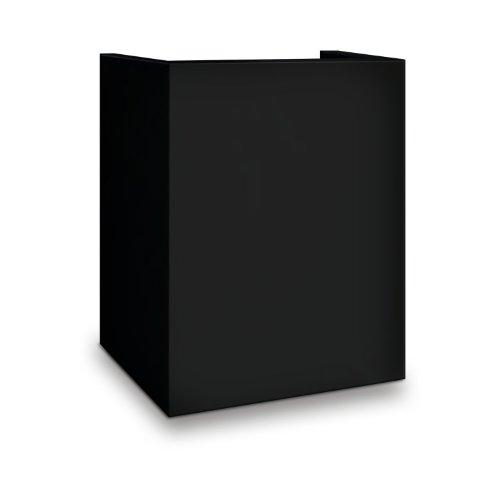 Mesa Safe MESA MP916-BLK Hotel/Residential Pedestal for MHRC916E-BLK, Black