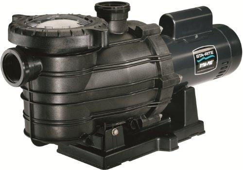 Dyna-Pro Energy Efficient Single Speed Up Rated Self-Priming Pool and Spa Pump with Easy Off Lid, 3/4 HP, 115/230-Volt