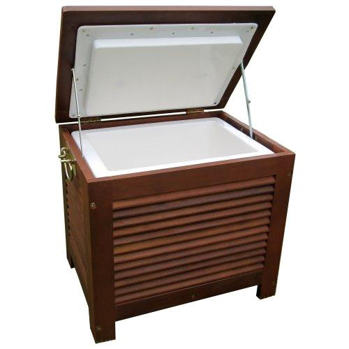 Northbeam 54.9 Qt. Outdoor Wooden Patio Cooler