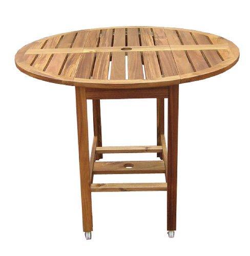 Acacia Folding Dining Table